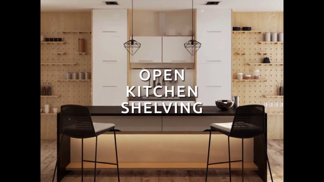 Homebliss Open Kitchen Shelving Youtube