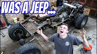 DESTROYING MY JEEP