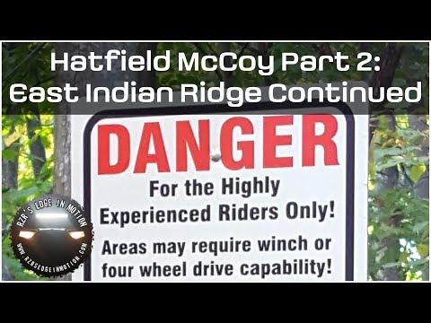 Hatfield McCoy Oct 2017 Part 2 - East Indian Ridge Trails Continued