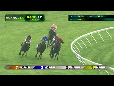 MONMOUTH PARK 5-26-18 RACE 12 - THE MONMOUTH STAKES