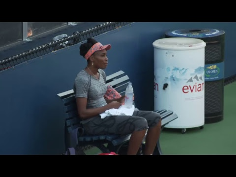 LIVE US Open Tennis 2017: Venus Williams Practice