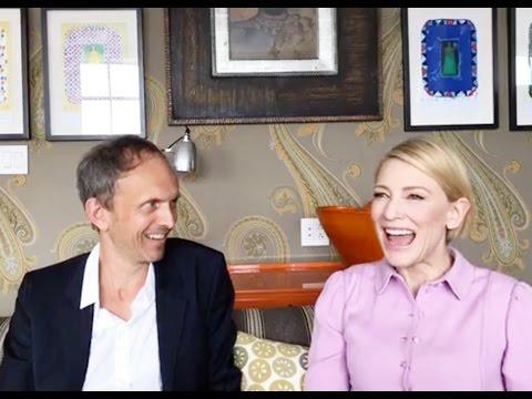 "Cate Blanchett and Julian Rosefeldt ""Manifesto"" Tribeca NYT interview"