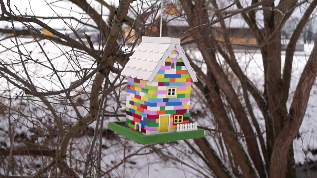 Lego Bird House Vogelfutterhaus Youtube