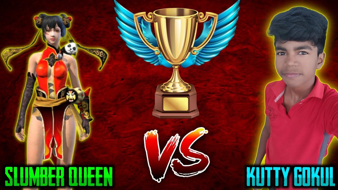 Revenge Match😠 || Slumber Queen Vs Kutty Gokul || 1 vs 1 Clash Squad Match