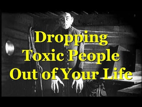 Toxic People Suck - Drop 'Em & Enjoy Life