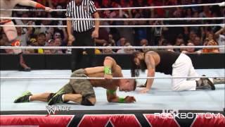 WWE Raw 4/7/2014 Fans sings John Cena sucks song [HD]