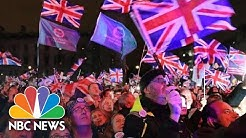 London Crowds Count Down To Official Brexit From European Union | NBC News (Live Stream)