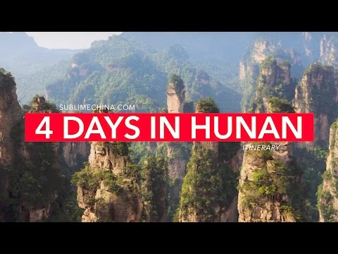 4 Days in Zhangjiajie and Fenghuang | Experience Avatar | Zhangjiajie Itinerary & Tour Suggestion