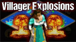 AoE2 Villager Explosions! New Meta is Born!