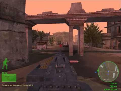 Delta Force Black Hawk Down Custom Mission : City Hole |