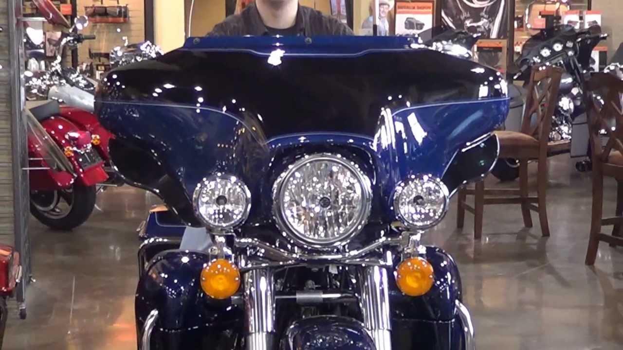 64cf822e Whiskey River Harley-Davidson's Adjustable Air Deflectors - YouTube