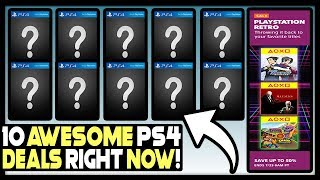 10 AWESOME PSN PS4 GAME DEALS AVAILABLE RIGHT NOW!