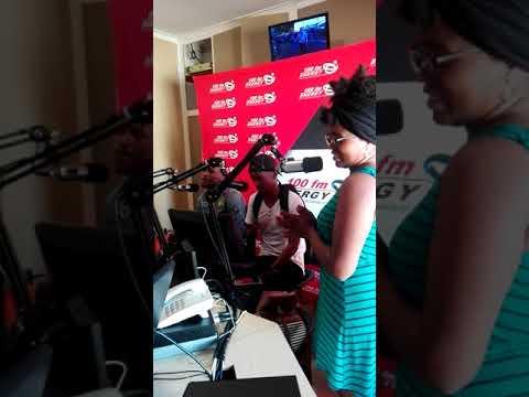 Tswazis interview for BumJiveSaturday at Radio Energy 100fm 2018
