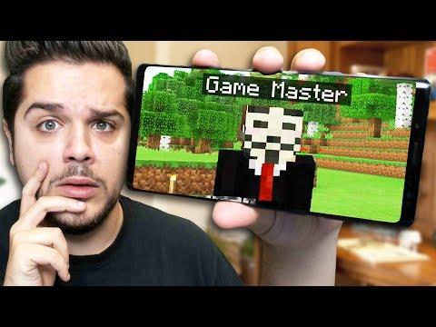 FOUND GAME MASTER in Minecraft PE! (Top Secret World Hack)