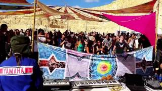 Analog Pussy - Live Show - Fractal In The Desert (Israel) 20/12/2014