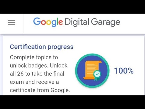 Google Digital Garage Final Exam Answer Latest 2019 | jan jagriti