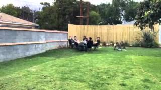 Time Lapse: Alt Brothers Install Bamboo Fencing