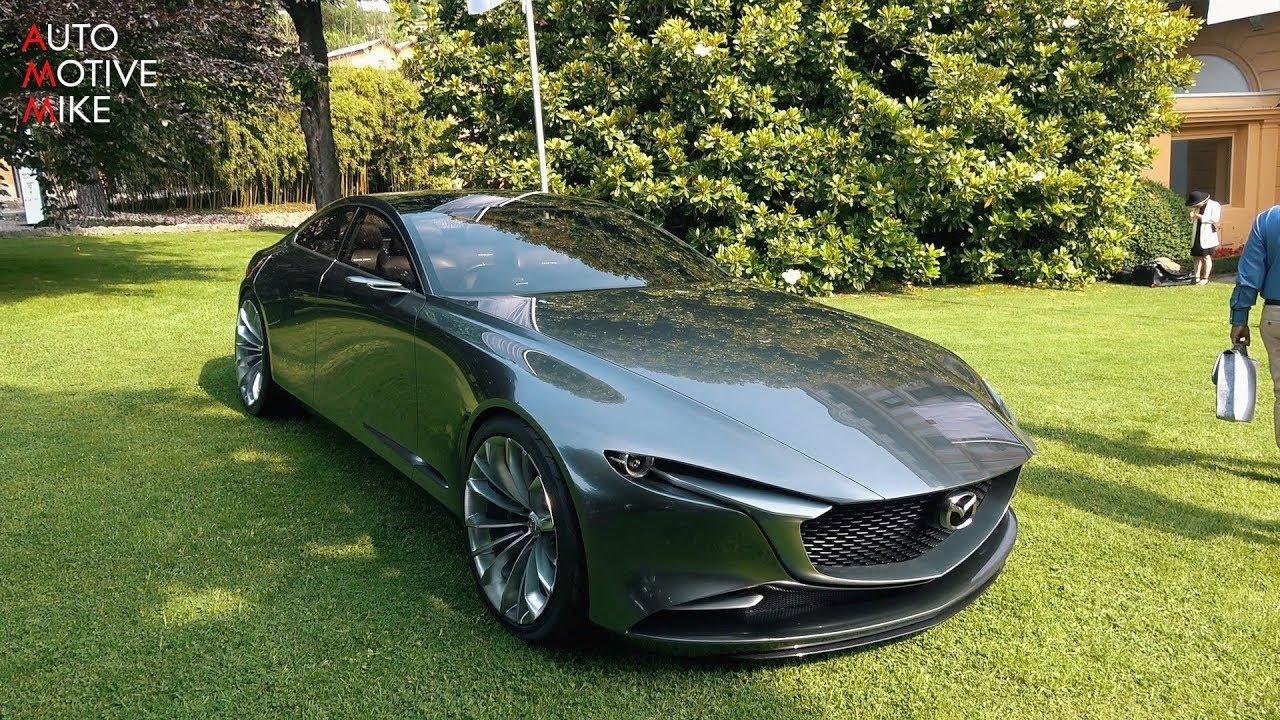 mazda vision coupe concept - villa d u0026 39 este 2018