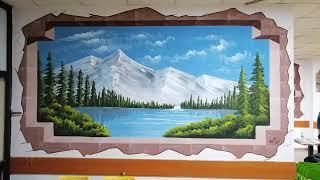 Duvar Resimleri Manzara resimleri