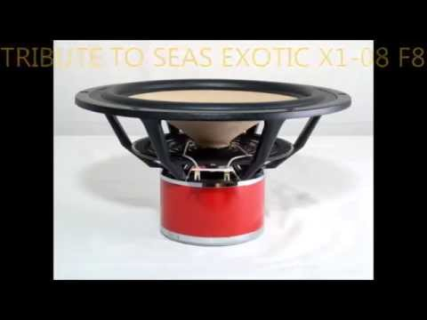 TRIBUTE TO SEAS EXOTIC X1-08 F8
