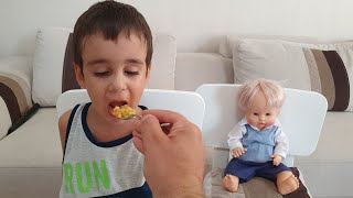 Berat Yoğurtlu Kabak Yemeği Yedi Sağlıklı Beslendi