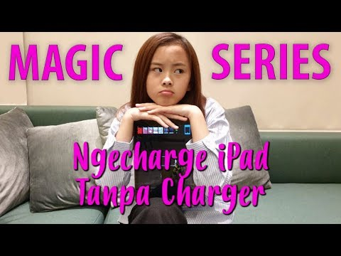 NGECHARGE IPAD TANPA CHARGER