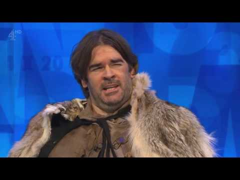 Sean Bean on a game  8 out of 10 Cats Does Countdown