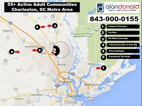 55+ Active Adult Retirement Communities in Charleston, SC