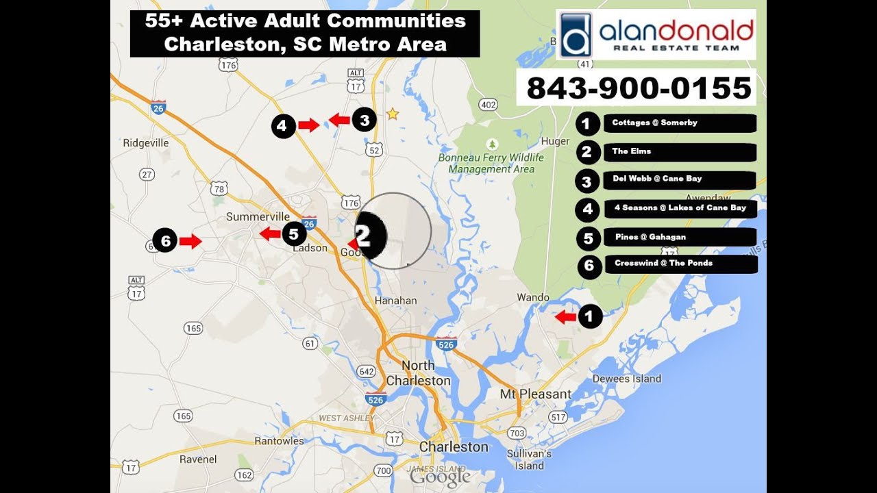 active adult charleston sc
