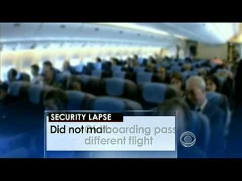 Fundamental failure of aviation security