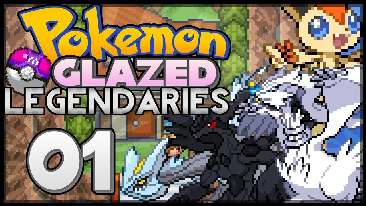 Pokémon Glazed Legendaries | Reshiram, Zekrom, Kyurem and Victini!