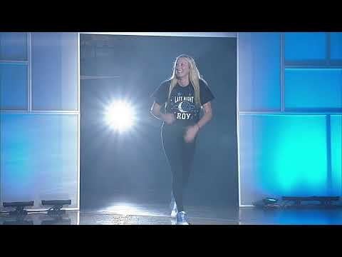 UNC Women's Basketball: Players Introduced at 2017 Late Night With Roy