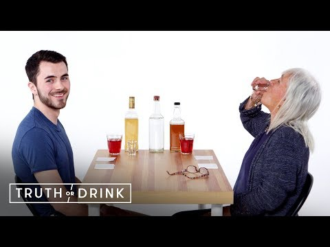 JROD - Watch This Guy And His Grandmother Play Truth Or Drink