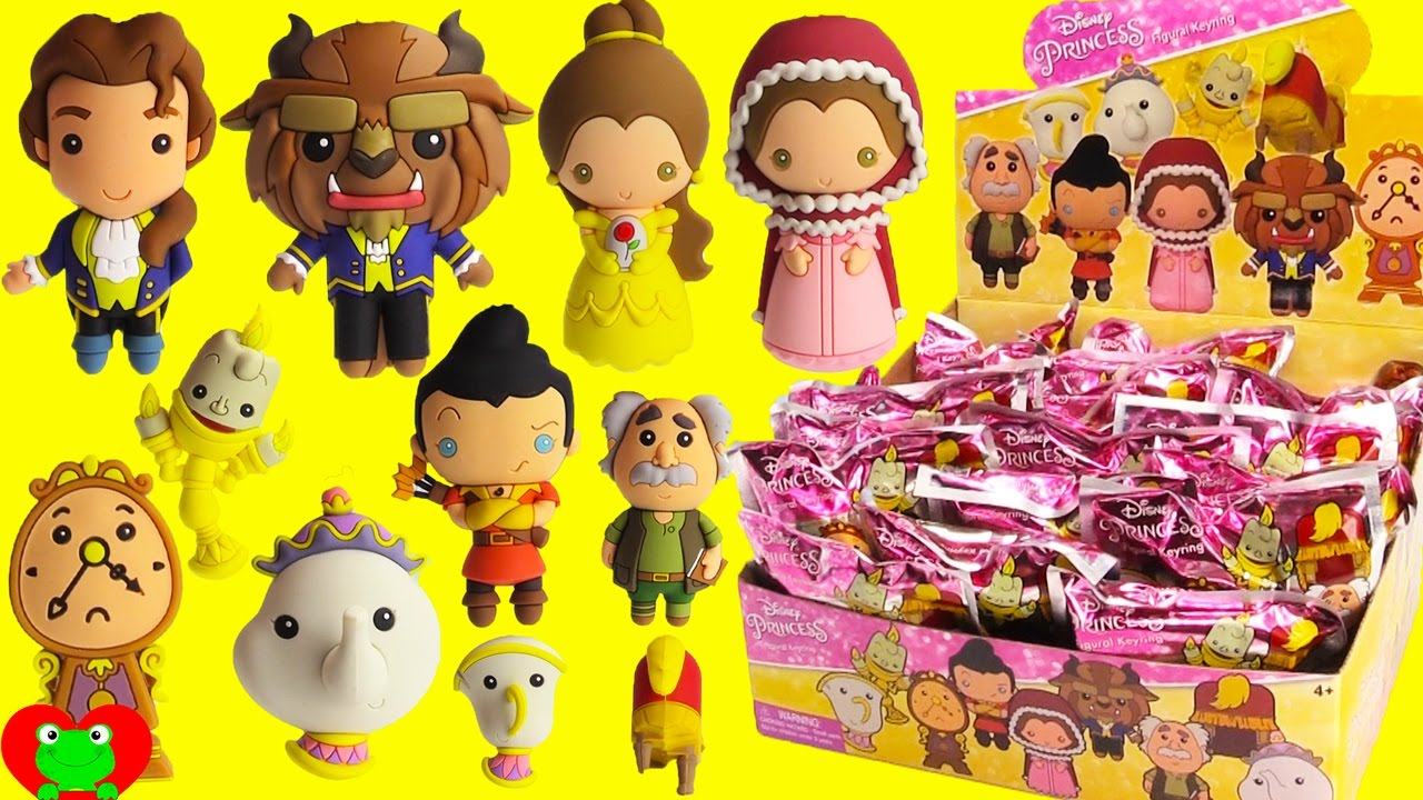 Beauty And The Beast Figural Keyrings Youtube
