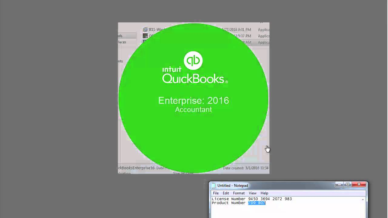 Quickbooks 2016 crack activation
