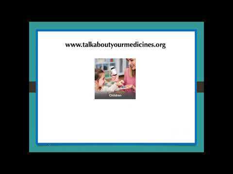 Talk About Your Medicines Month: Preventing Opioid Misuse & Abuse Webinar (Oct 2019)