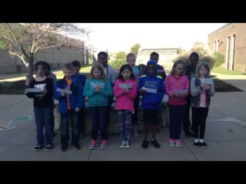 4th grade sings SMU FIGHT SONG