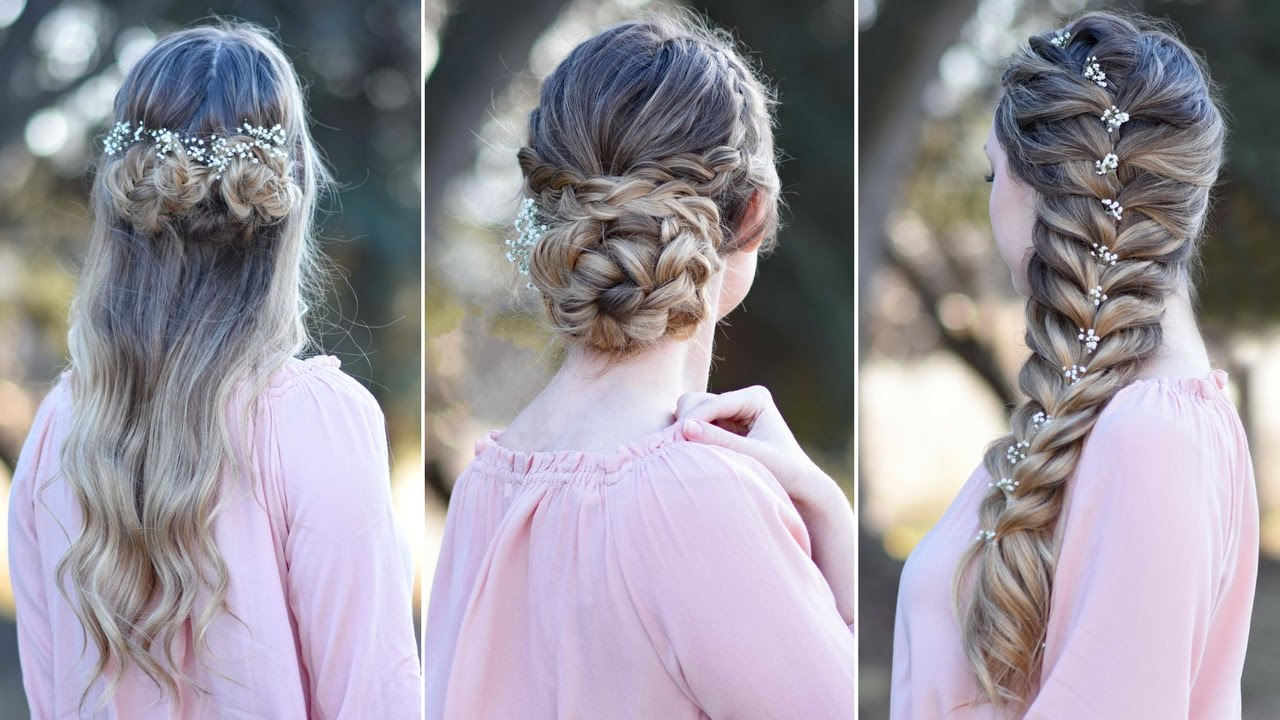 3 prom hairstyles | updo | cute girls hairstyles
