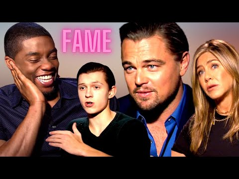 HOW I DEAL WITH FAME | DiCaprio, Chadwick Boseman, Aniston, Holland, Chalamet, Pattinson, Lively...