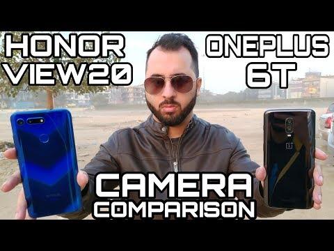 Honor View 20 vs Oneplus 6T Camera Comparison Honor View 20 Camera Review Honor V20 Camera