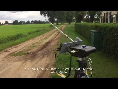MFD antenna tracker & 2 4Ghz TBS Yagi