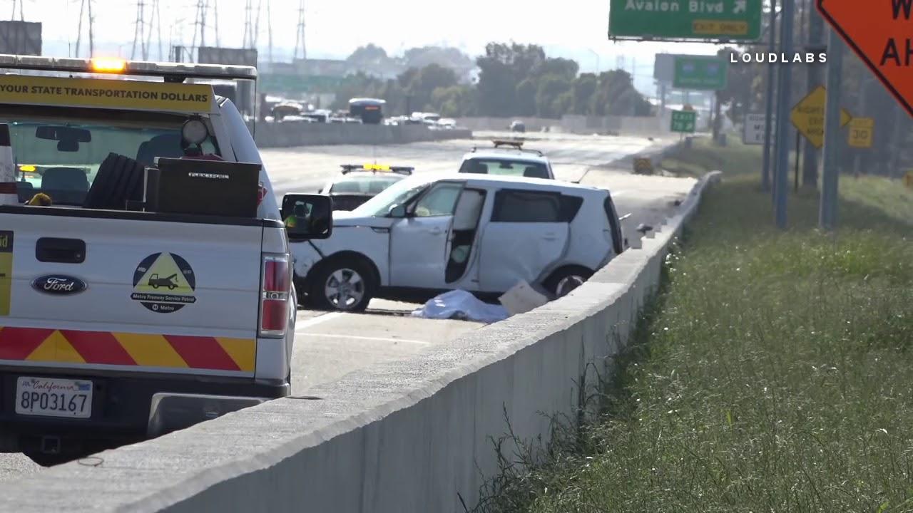 Fatal Crash on 91 Freeway / Carson 4 2 19