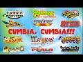 Cumbia,Cumbia Askis, Cañaveral, Yaguarú, Ángeles Azules