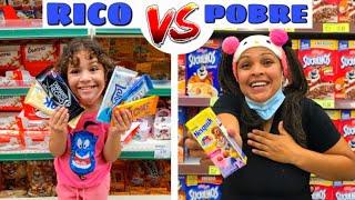 RICO vs POBRE NO MERCADO - VÍDEOS ENGRAÇADOS