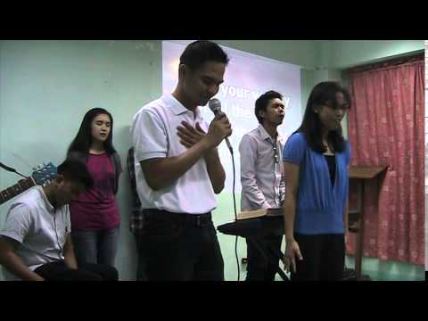 Sept. 21, 2014  Part 4 -First Film Showing in the Church - Holy Ghost (ministry time)