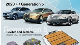 BMW introduces the Fifth-generation electric drive technology