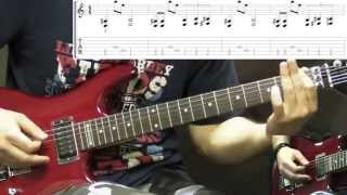 Machine Head - Davidian - Metal Guitar Lesson (with Tabs)