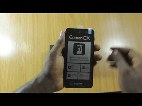Tecno Camon CX Unboxing and Quick Review