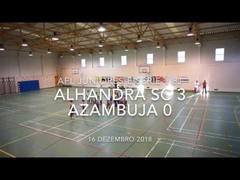 Alhandra SC 3 - 0 Azambuja