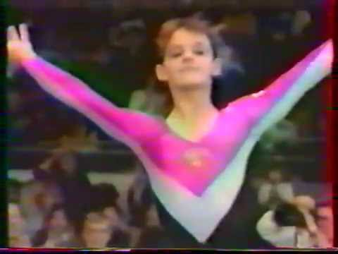 1989 Worlds Stuttgart Women Team Optionals (Japanese coverag